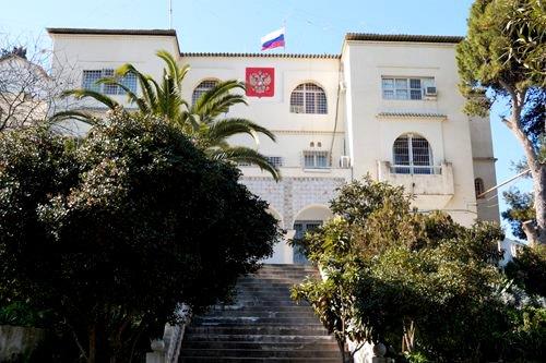 Консульский отдел Посольства Российской Федерации в Алжире