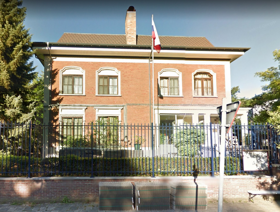 General consulate of the Russian Federation in Antwerpen