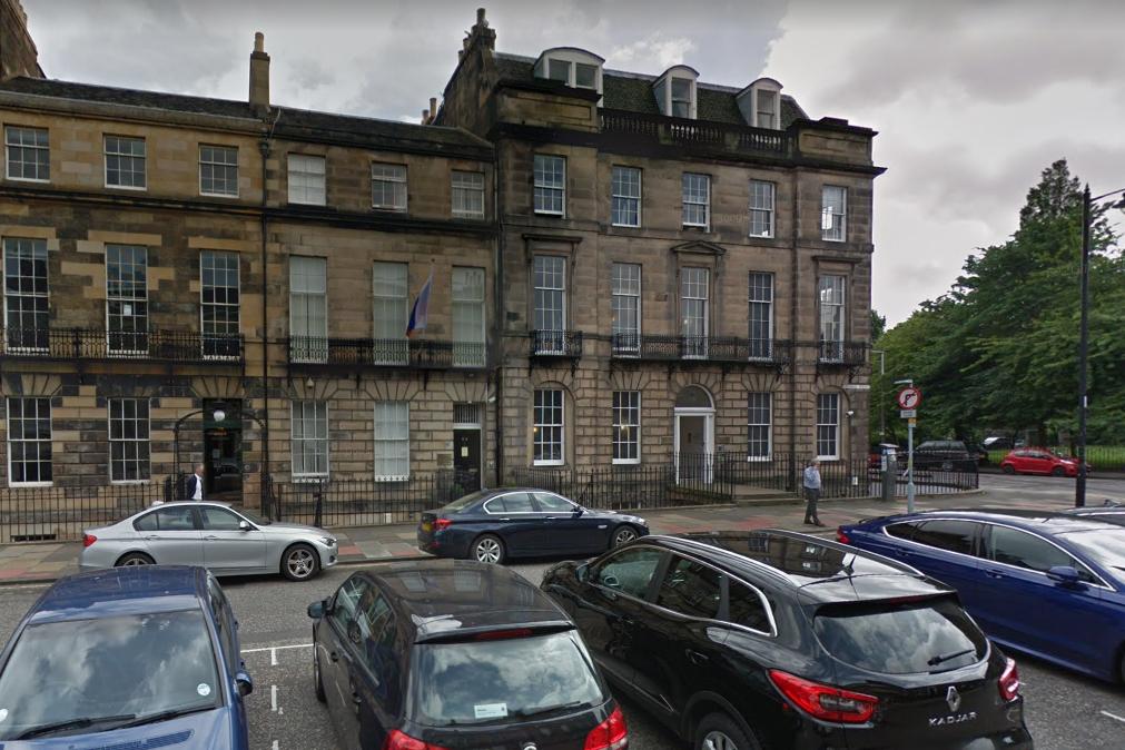 Генеральное консульство Российской Федерации в Эдинбурге