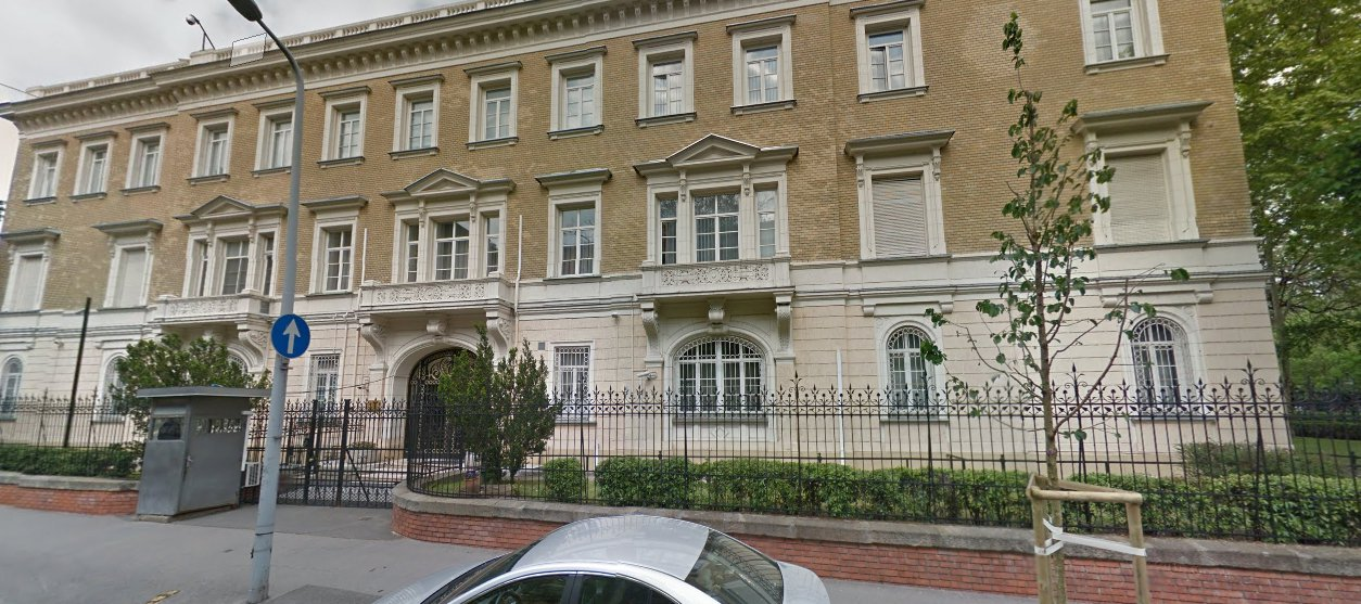 Consular Section of the Embassy of the Russian Federation in Budapest