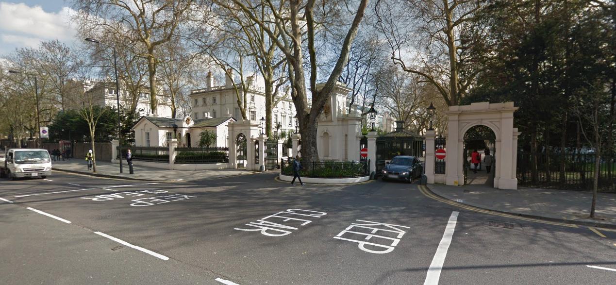 Консульский отдел Посольства Российской Федерации в Великобритании