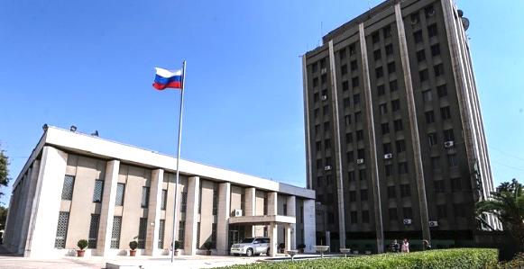 Консульский отдел Посольства Российской Федерации в Сирии
