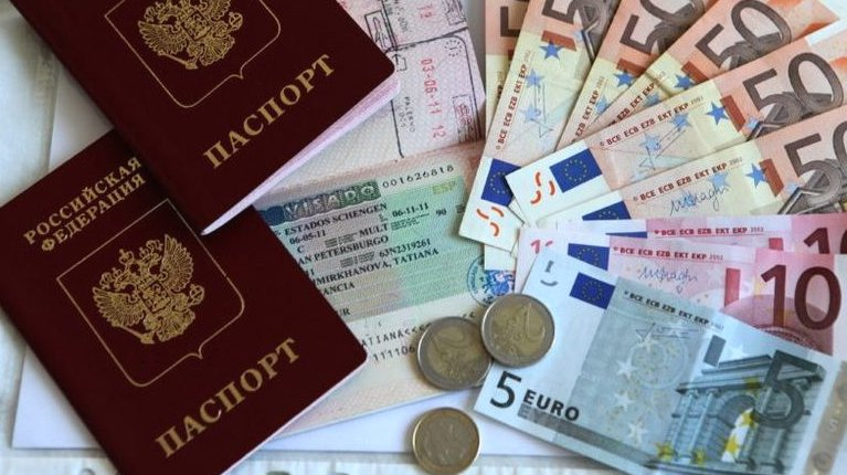 Паспорт, виза и деньги