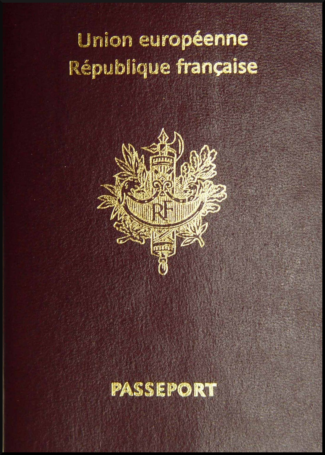 Passport of the citizen of France