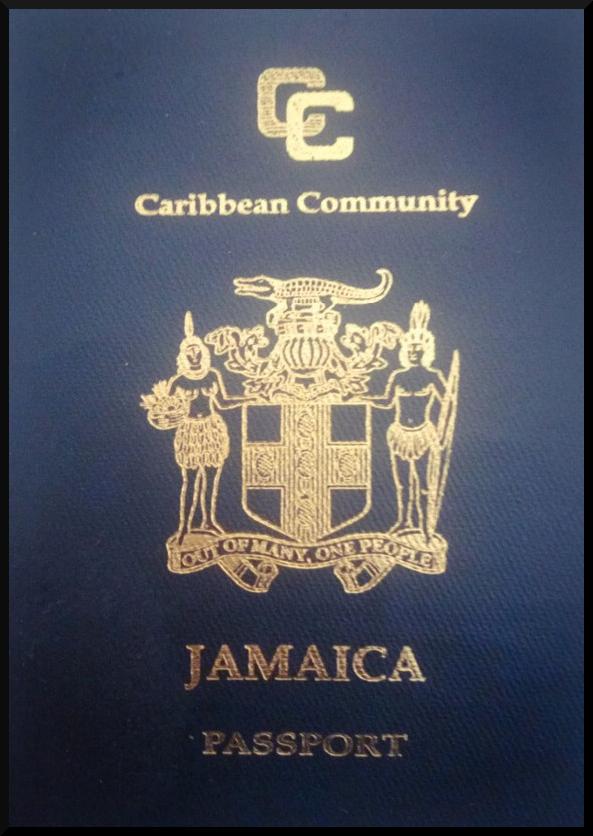 Паспорт Ямайки