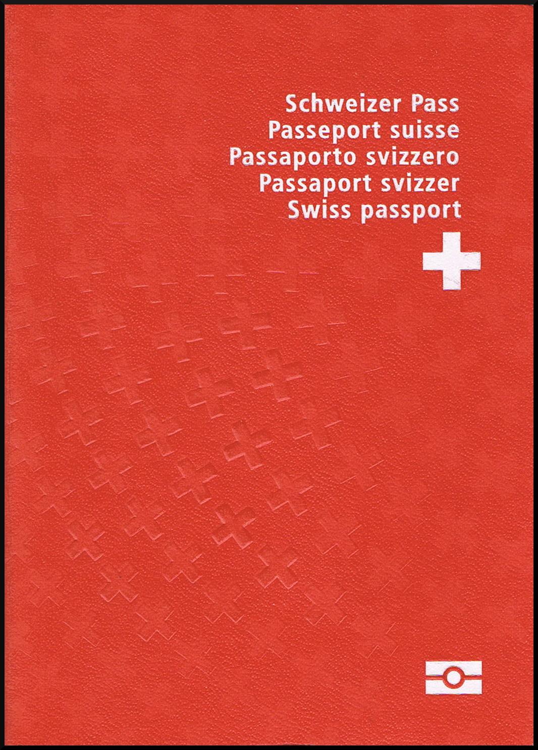 Паспорт Швейцарии