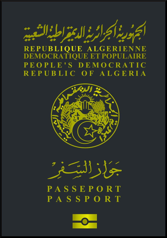 Паспорт Алжира