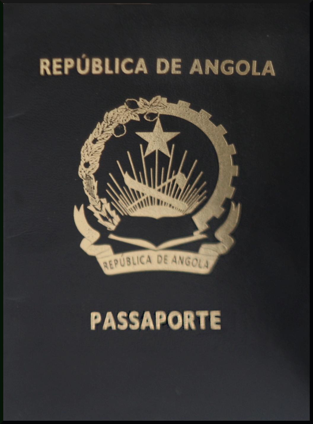 Паспорт Анголы