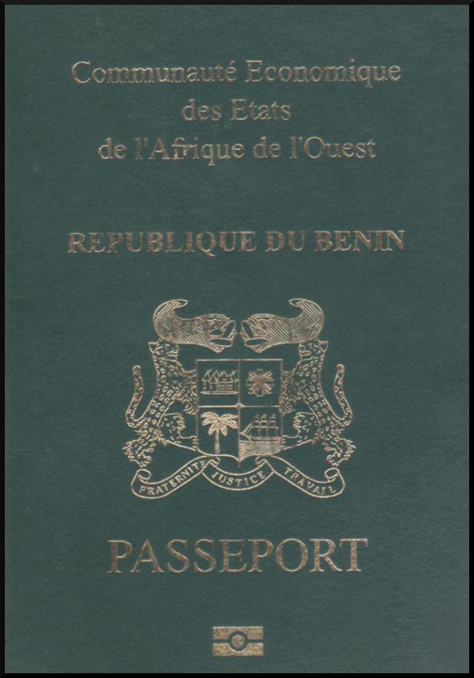 Паспорт Бенина