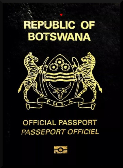 Паспорт гражданина Ботсваны