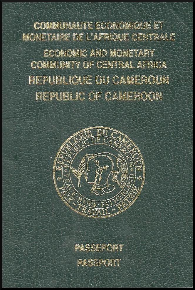 Паспорт Камеруна