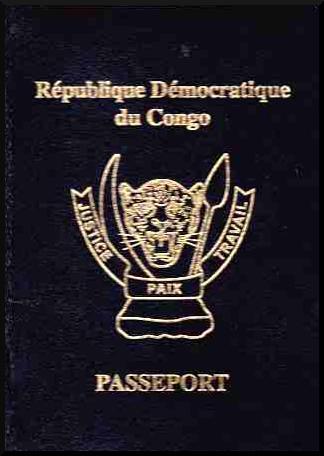 Паспорт Демократической Республики Конго