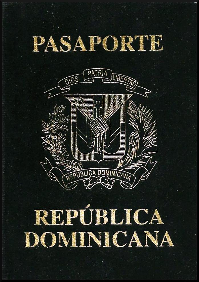 Паспорт Доминиканской Республики