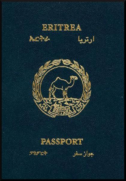 Паспорт Эритреи