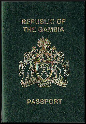Паспорт Гамбии