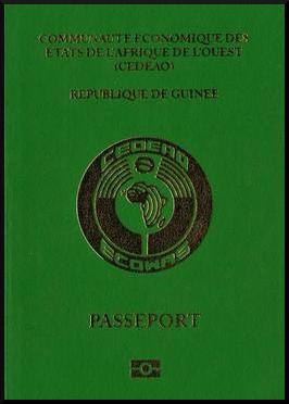 Паспорт Гвинейской Республики