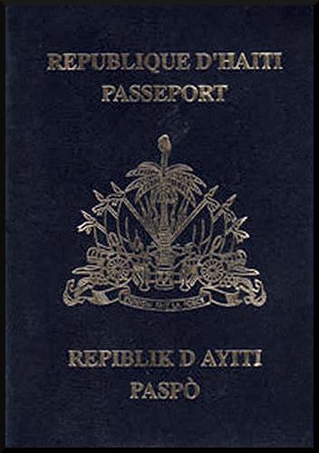 Паспорт гражданина Гаити