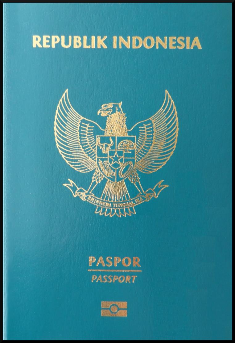 Паспорт Индонезии