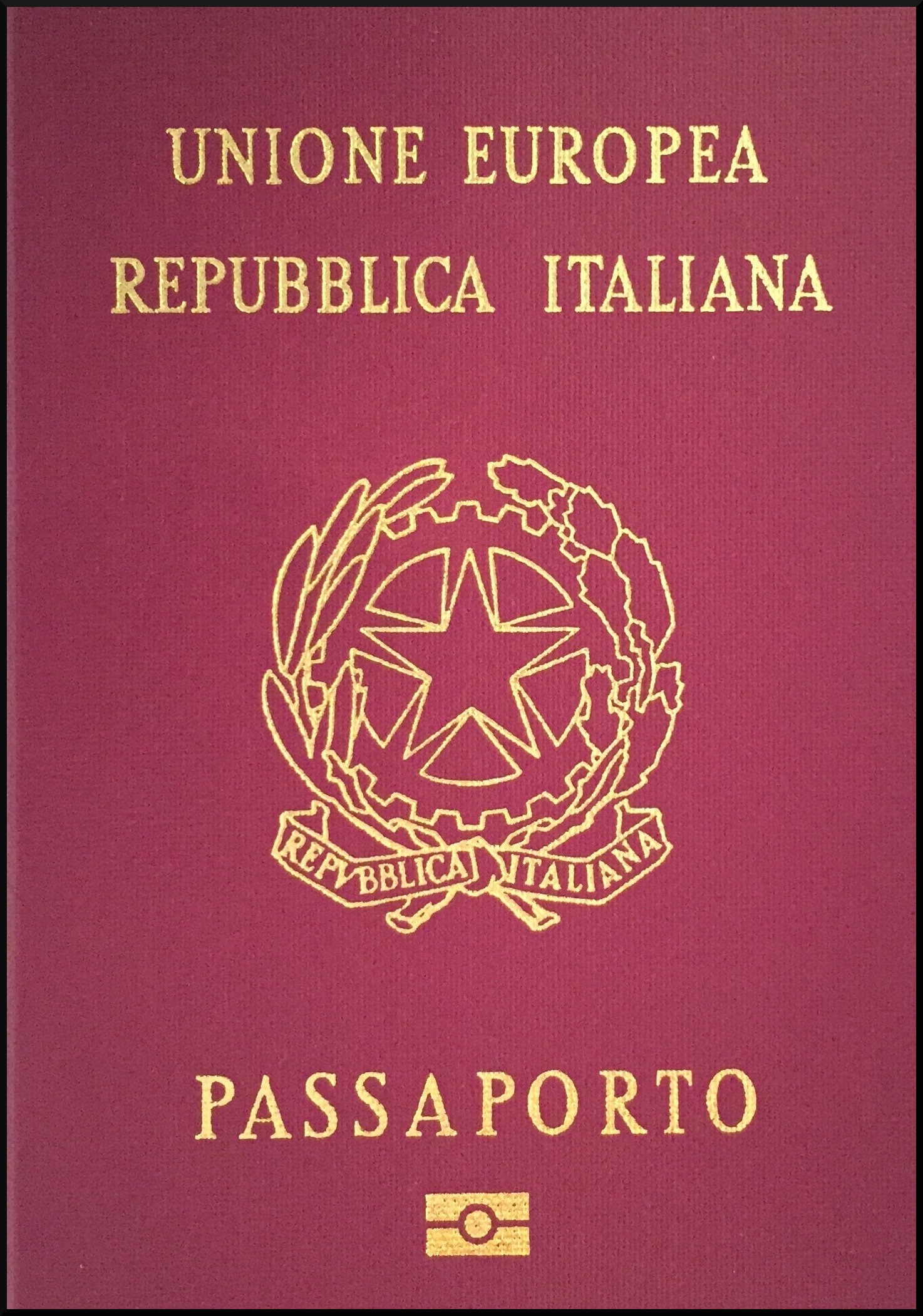 Passport of the citizen of Italy