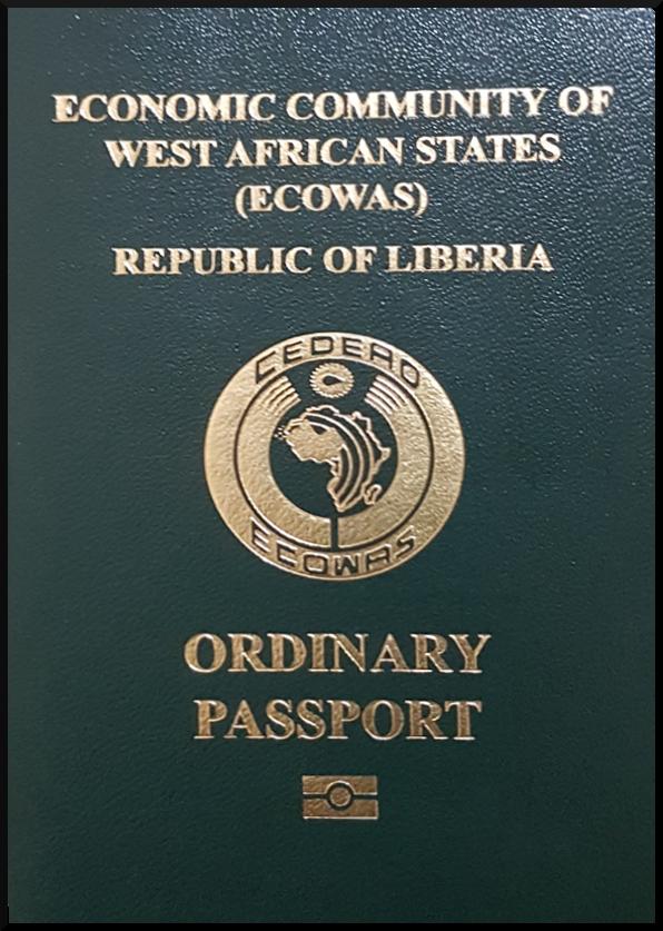Паспорт Либерии