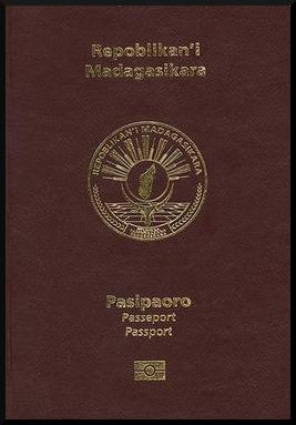 Паспорт Мадагаскара