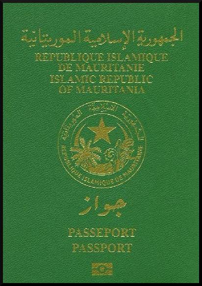 Паспорт Мавритании