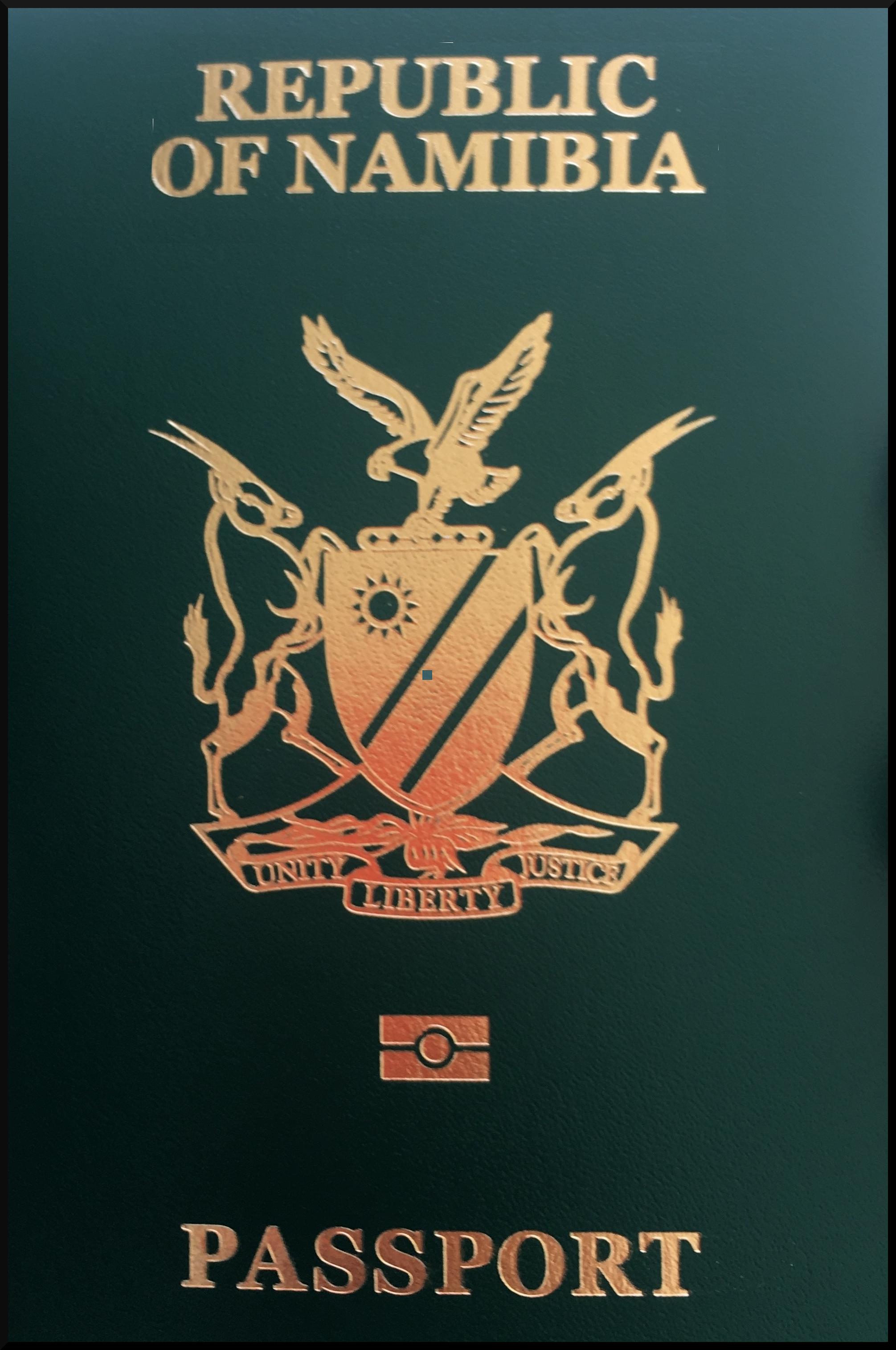 Паспорт Намибии