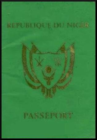 Паспорт Нигера