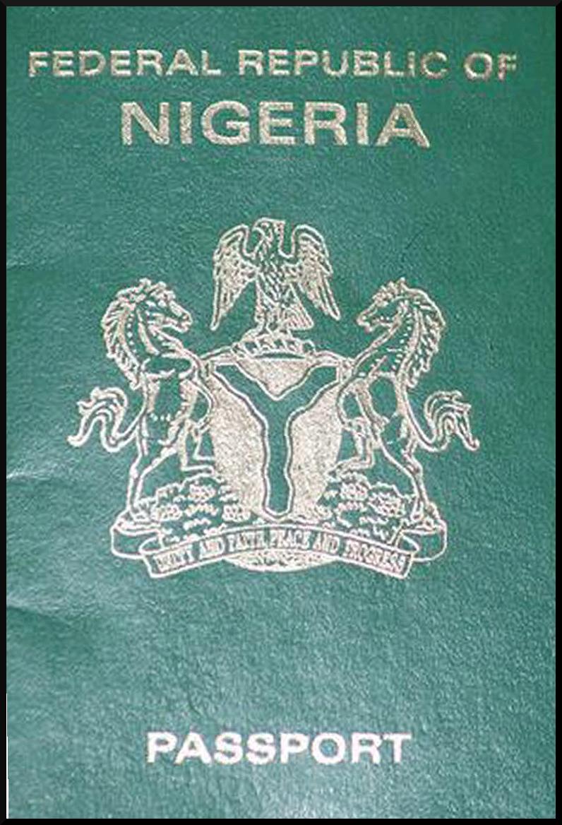 Паспорт Нигерии
