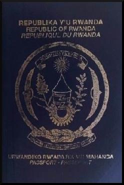 Паспорт Руанды