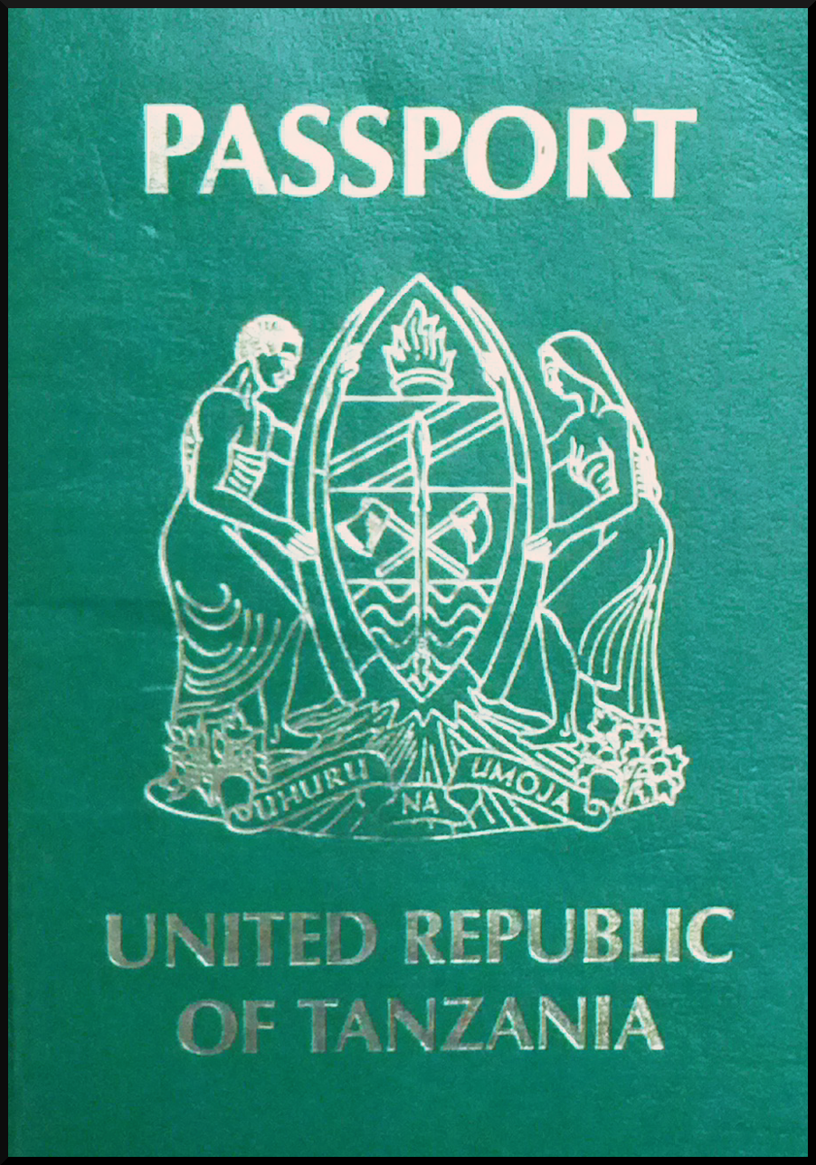 Паспорт Танзании