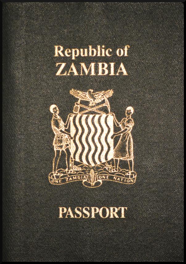 Паспорт Замбии