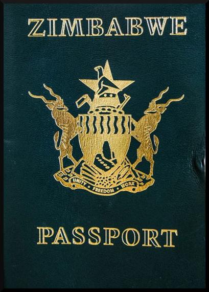 Паспорт Зимбабве